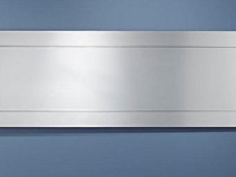WHITE LABEL - avatar miroir droit mural rectangulaire en verre b - Miroir
