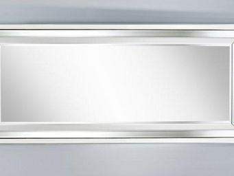 WHITE LABEL - right miroir mural design en verre grand modèle - Miroir