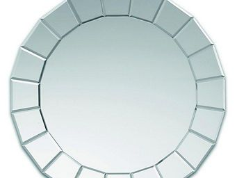 WHITE LABEL - solaris miroir mural design en verre - Miroir Hublot