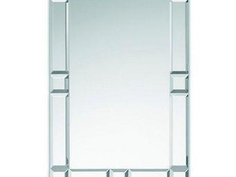 WHITE LABEL - domino miroir mural design en verre - Miroir