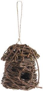 Aubry-Gaspard - nichoir oiseaux en sarment - Maison D'oiseau