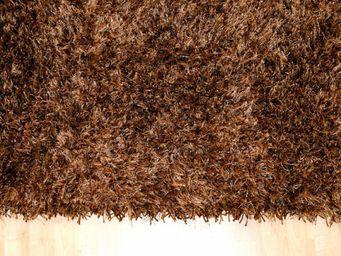 WHITE LABEL - feeling tapis épais marron - 200x300 cm - Tapis Contemporain