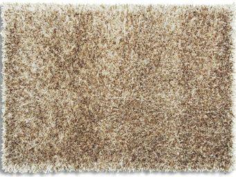 WHITE LABEL - feeling tapis épais taupe 200x300 cm - Tapis Contemporain
