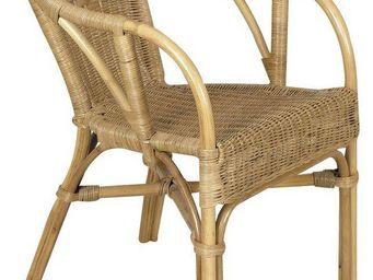 Aubry-Gaspard - fauteuil rotin indon�sie - Fauteuil De Jardin