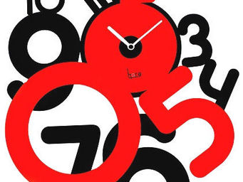 HORA - horloge contemporaine freaky - Horloge Murale