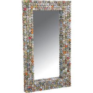 Aubry-Gaspard - miroir rectangulaire en papier recyclé - Miroir