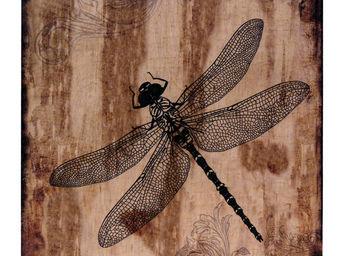 Interior's - tableau libellule - Tableau Décoratif