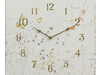 Interior's - horloge baies d'automne - Horloge Murale