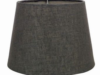Interior's - abat-jour gris en coton - Abat Jour