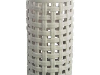 Interior's - lanterne en porcelaine pois & compagnie gm - Photophore