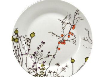 Interior's - assiette plate baies d'automne - Assiette Plate