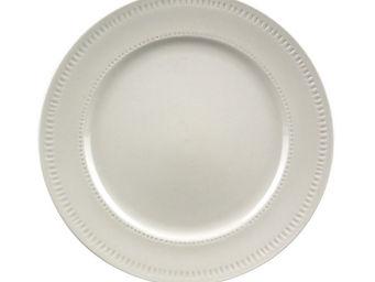 Interior's - assiette dessert en porcelaine arabesque - Assiette À Dessert