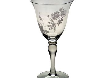 Interior's - verre à vin marguerites - Verre À Pied