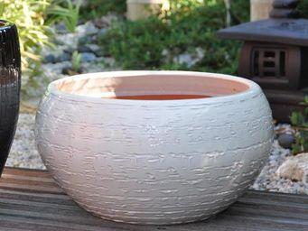 Les Poteries Clair de Terre - stone - Vasque De Jardin