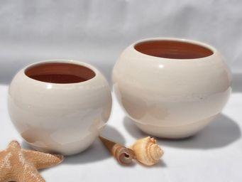 Les Poteries Clair de Terre - boréal - Cache Pot