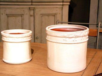 Les Poteries D'albi - cerise - Cache Pot
