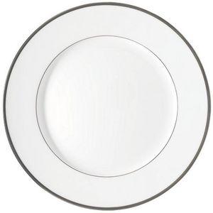 Raynaud - fontainebleau platine (filet marli) - Assiette Plate