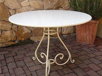 Replicata - bergerac - Table De Jardin Ronde
