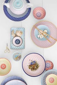 CNB ORIENTAL PRODUCTS / KIMMIDOLL -  - Assiette Plate