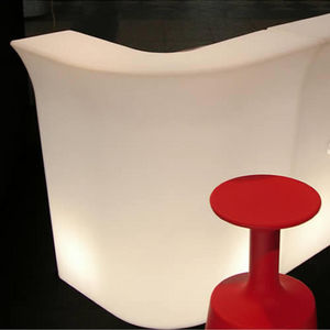 Mathi Design - bar lumineux slide jumbo corner - Comptoir De Bar