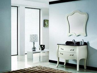 UsiRama.com - meuble salle de bain design baroque 1m - Meuble De Salle De Bains