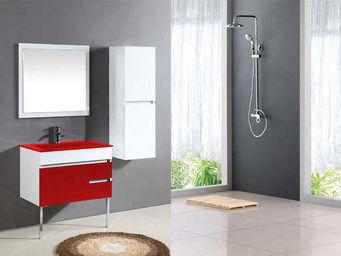 UsiRama.com - meuble salle de bain design clavier 80cm - Meuble De Salle De Bains