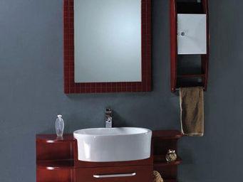 UsiRama.com - meuble salle de bain multi 110cm - Meuble De Salle De Bains