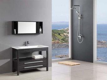 UsiRama.com - ensemble meuble salle de bain conciz 1m - Meuble De Salle De Bains