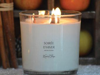 LES LUMIÈRES DU TEMPS - bougie mèches bois crépitantes - Bougie Parfumée