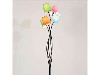 Kare Design - lampadaire cinque colore - Lampadaire