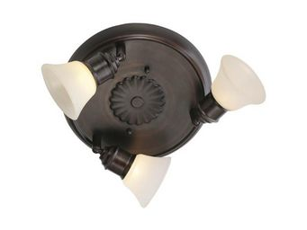 Eglo - plafonnier 3 luminaires alamo - Spot Encastré Orientable