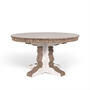 Corvasce Design - tavolo tondo columbia - Table De Repas Ronde
