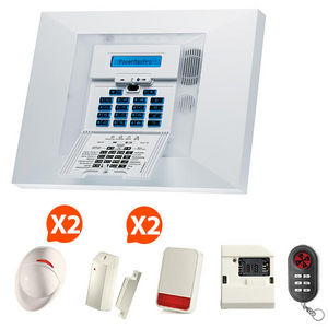 CFP SECURITE - alarme gsm sans fil visonic nf&a2p kit 7 + - Alarme