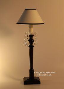 Abat-jour - baroque pampille - Lampe � Poser
