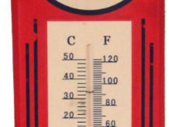 Antic Line Creations - thermomètre vintage esso - Thermomètre