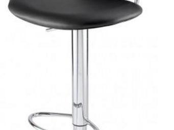 ID'CLIK - chaise de bar gabrielle - Chaise Haute De Bar