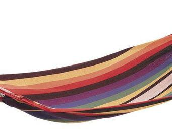 Aubry-Gaspard - hamac simple en coton et polyester passion - Hamac
