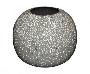 Demeure et Jardin - joli vase boule céramique coquille d'oeuf - Vase À Fleurs