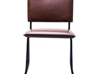 Kare Design - chaise duran vintage marron - Chaise