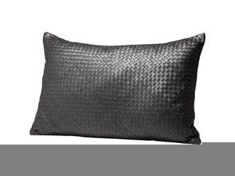 Kare Design - coussin ranch plaited noir 40x60cm - Coussin Rectangulaire