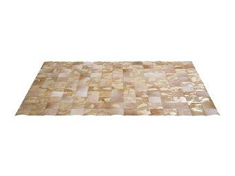 Kare Design - tapis patchwork vegas cuir 170x240cm - Tapis Contemporain