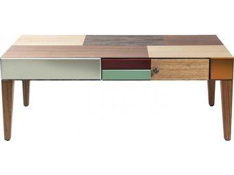 Kare Design - table basse en bois metamorphosis - Table Basse Rectangulaire