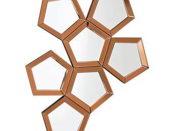 Kare Design - miroir pentagon 110x84 cm - Miroir