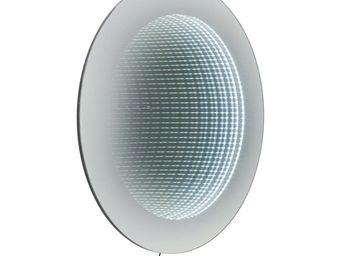 Kare Design - miroir tube �80cm led - Miroir