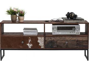 Kare Design - meuble tv texas 2 tiroirs - Meuble Tv Hi Fi