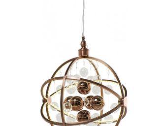 Kare Design - suspension universum copper led - Suspension