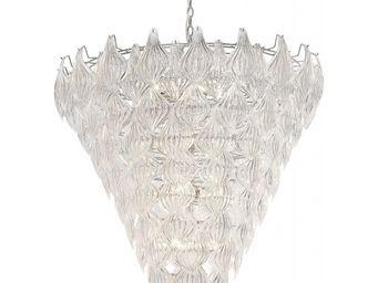 Kare Design - suspension leaf crystal 14 - Lustre