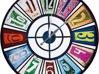 Kare Design - horloge roulette pop 80cm - Horloge Murale