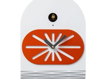 Kare Design - horloge kuckuck modern - Horloge Murale