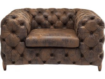 Kare Design - fauteuil chesterfield my desire vintage - Fauteuil Chesterfield